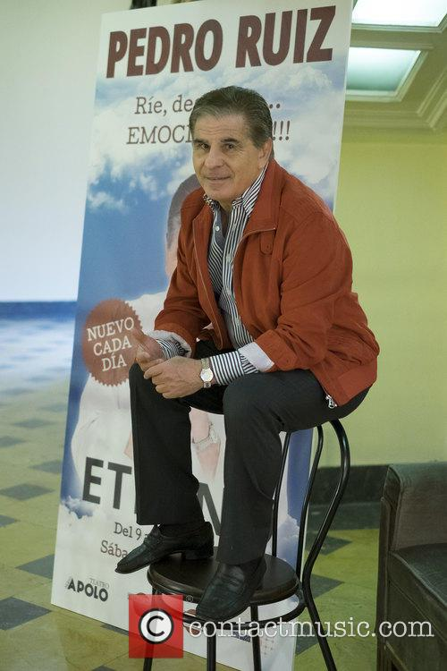 Pedro Ruiz attends a photocall for 'Eternal'