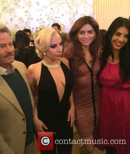 Lady Gaga, Blanca Blanco, John Savage and Tilda Del Toro 2