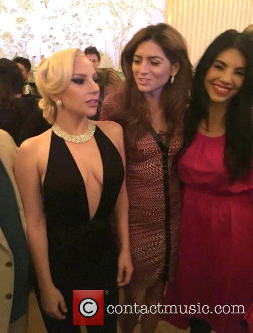 Lady Gaga, Blanca Blanco and Tilda Del Toro 3