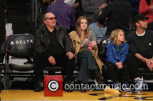 Jack Nicholson and Lorraine Nicholson 2