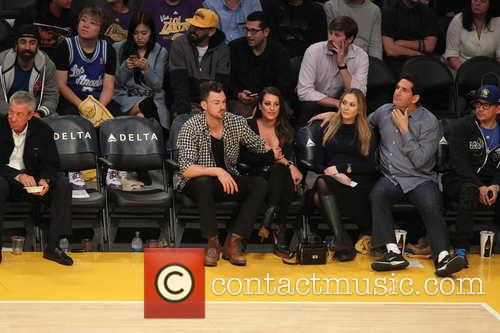 Lea Michele and Matthew Paetz 7