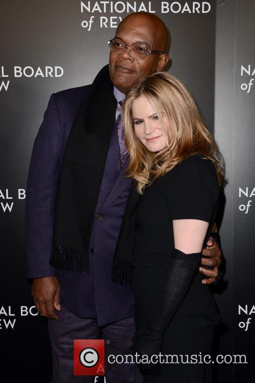 Samuel L. Jackson and Jennifer Jason Leigh 5
