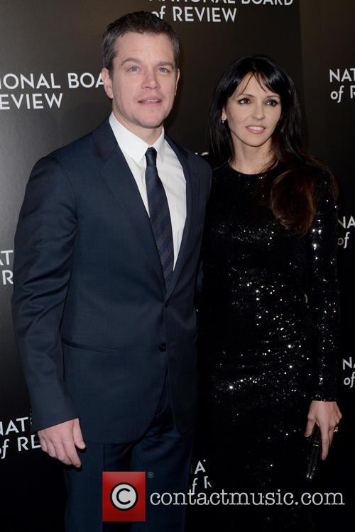 Matt Damon and Luciana Barroso 4