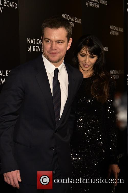 Matt Damon and Luciana 2