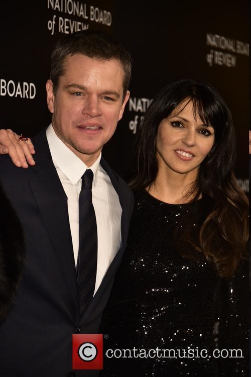 Matt Damon and Luciana 3