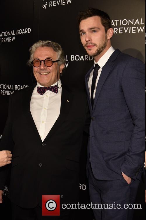 George Miller and Nicholas Hoult 1