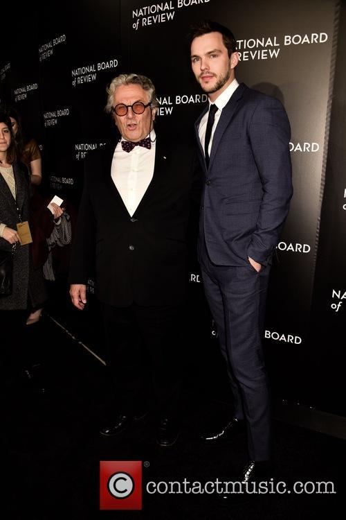George Miller and Nicholas Hoult 2