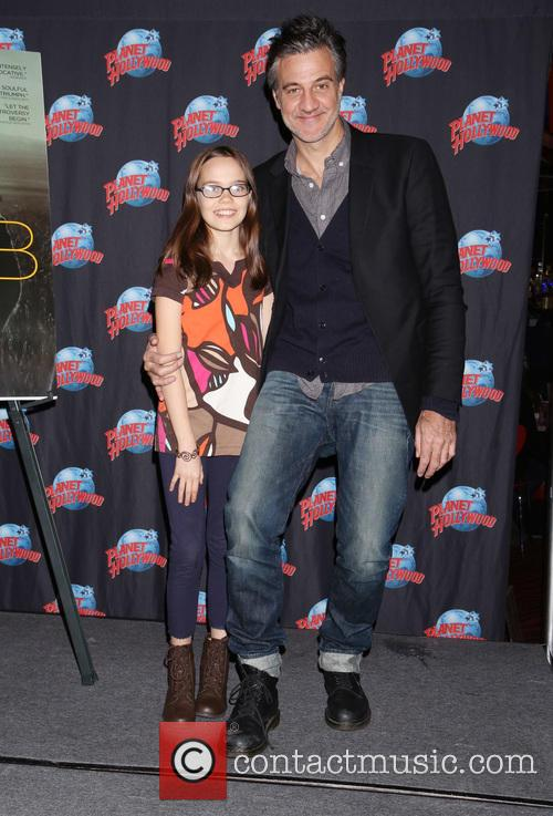 Oona Laurence and Ross Partridge 2