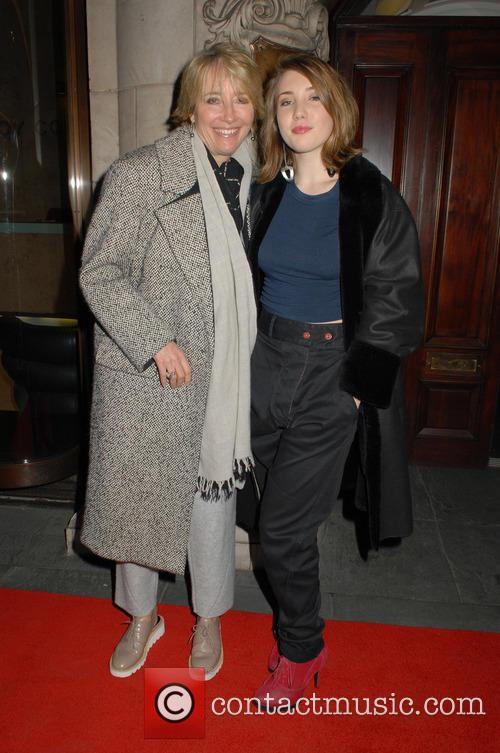 Emma Thompson and Gaia Romilly Wise 1