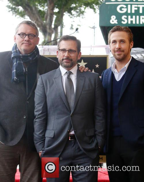 Steve Carell Honored With Star On The Hollywood...