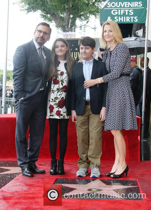 Steve Carell, Elisabeth Anne Carell, John Carell and Nancy Carell 4