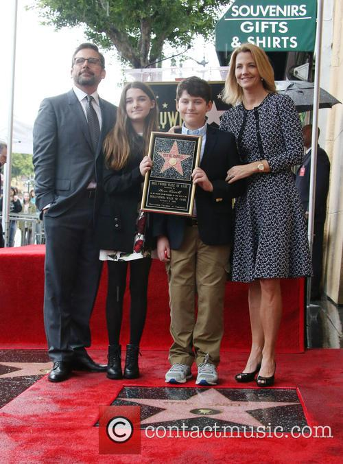 Steve Carell, Elisabeth Anne Carell, John Carell and Nancy Carell 6