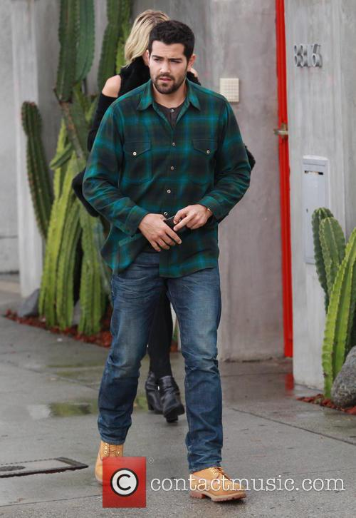 Cara Santana and Jesse Metcalfe out in Beverly...