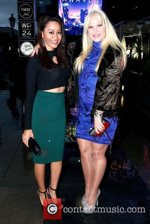 Jade Brandais and Andrea Albright