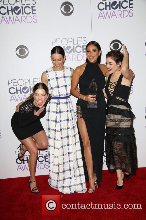 Ashley Benson, Troian Bellisario, Shay Mitchell and Lucy Hale 3