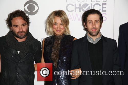 Johnny Galecki, Kaley Cuoco and Simon Helberg 1
