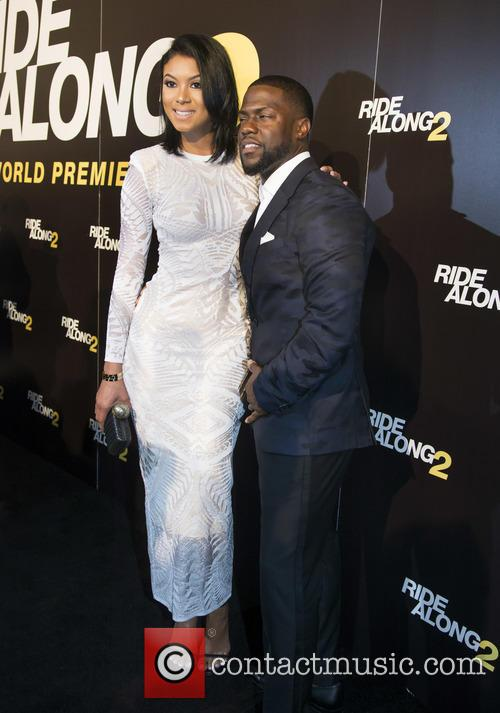 Torrei Hart and Kevin Hart 3