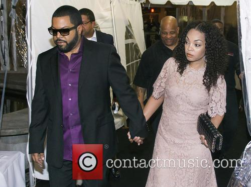 Ice Cube and Kimberly Woodruff 1