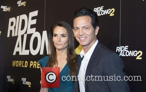 Benjamin Bratt and Talisa Soto