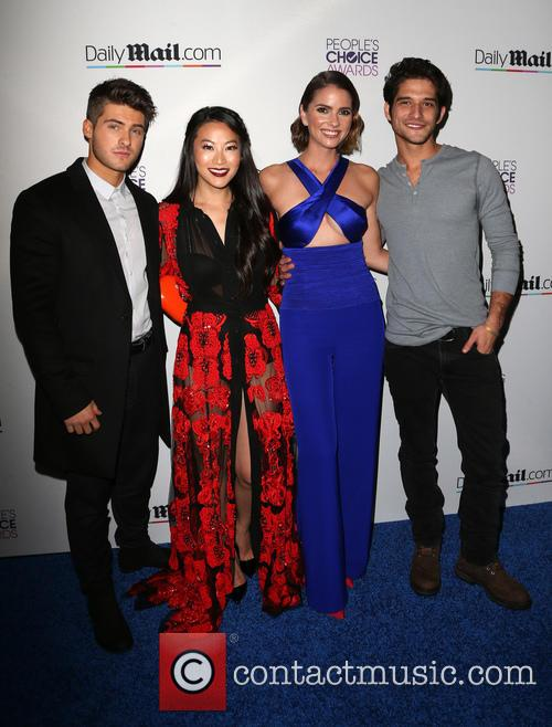 Cody Christian, Arden Cho, Shelley Hennig and Tyler Posey 1