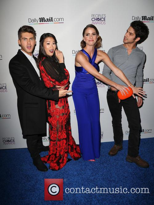 Cody Christian, Arden Cho, Shelley Hennig and Tyler Posey 2