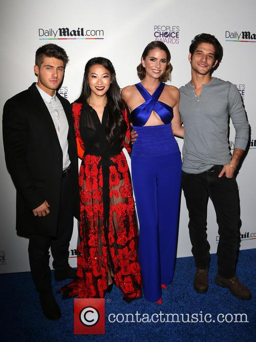 Cody Christian, Arden Cho, Shelley Hennig and Tyler Posey 3