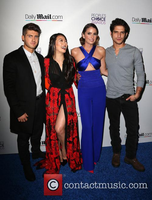 Cody Christian, Arden Cho, Shelley Hennig and Tyler Posey 4