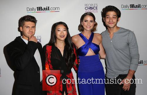 Cody Christian, Arden Cho, Shelley Hennig and Tyler Posey 5
