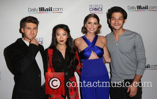 Cody Christian, Arden Cho, Shelley Hennig and Tyler Posey 6