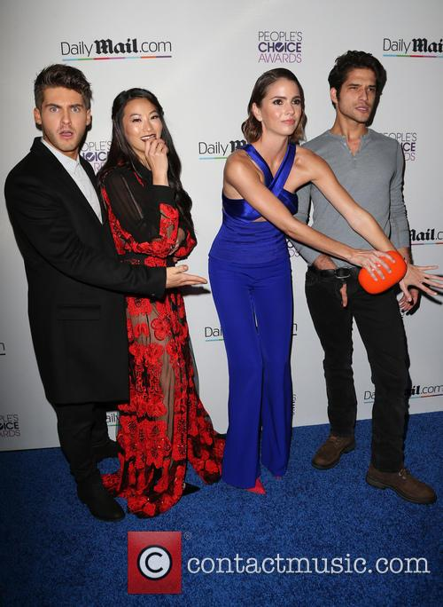 Cody Christian, Arden Cho, Shelley Hennig and Tyler Posey 8