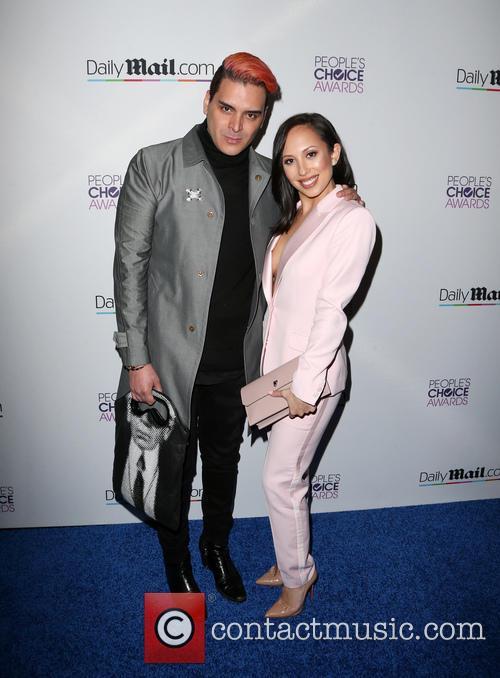 Markus Molinari and Cheryl Burke 2