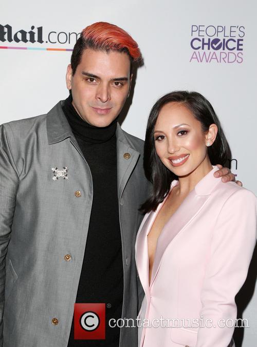 Markus Molinari and Cheryl Burke 5