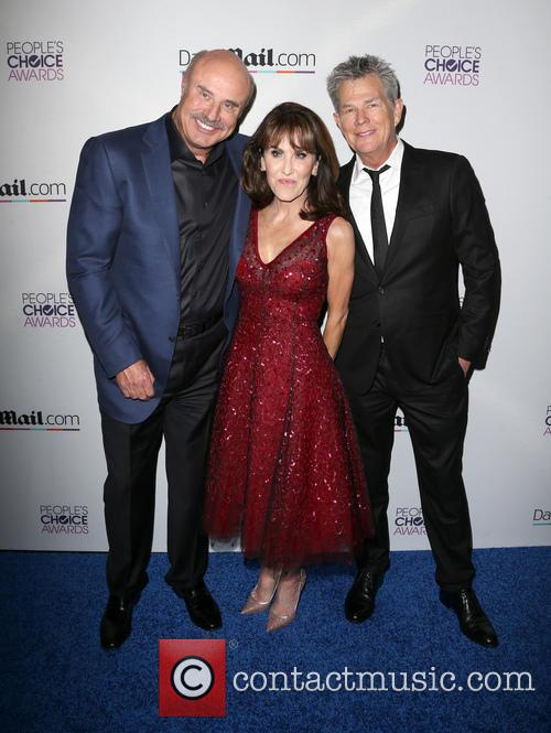 Phil Mcgraw, Robin Mcgraw and David Foster 1