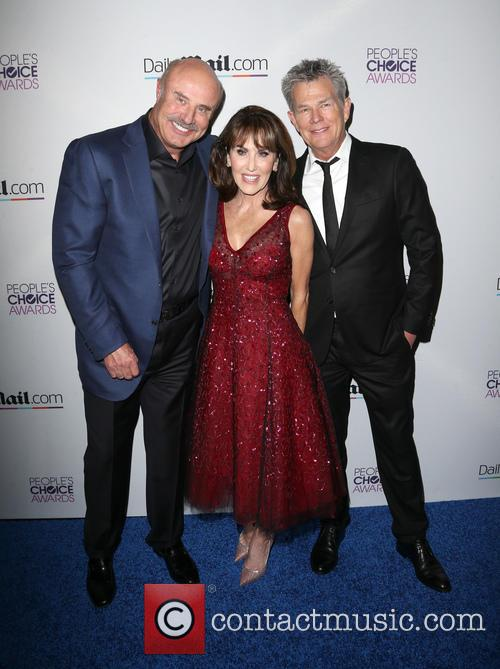 Phil Mcgraw, Robin Mcgraw and David Foster 2