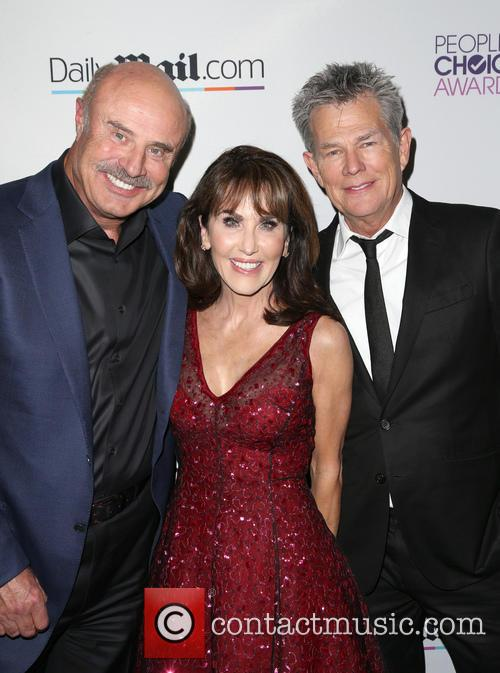Phil Mcgraw, Robin Mcgraw and David Foster 3
