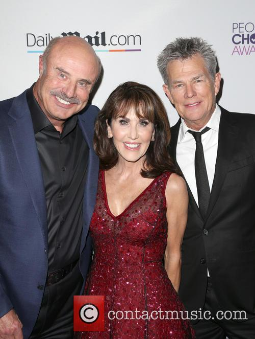Phil Mcgraw, Robin Mcgraw and David Foster 4