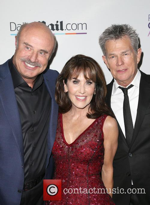 Phil Mcgraw, Robin Mcgraw and David Foster 5