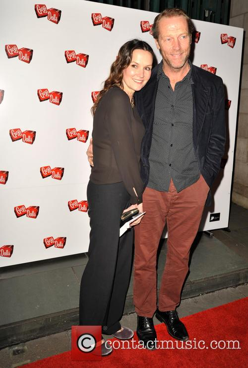 Charlotte Emmerson and Iain Glen 1