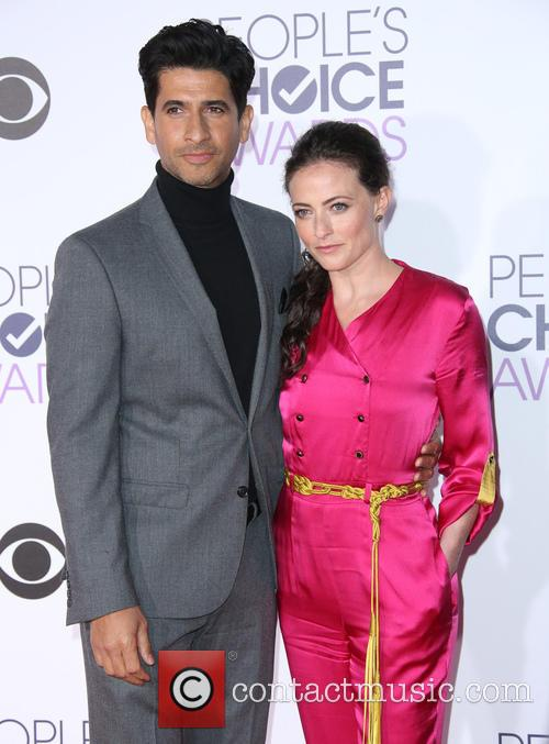 Raza Jaffrey and Lara Pulver 1