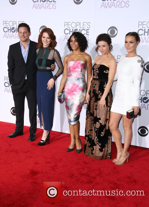 Sarah Drew, Justin Chambers, Kelly Mccreary, Caterina Scorsone and Camilla Luddington 1