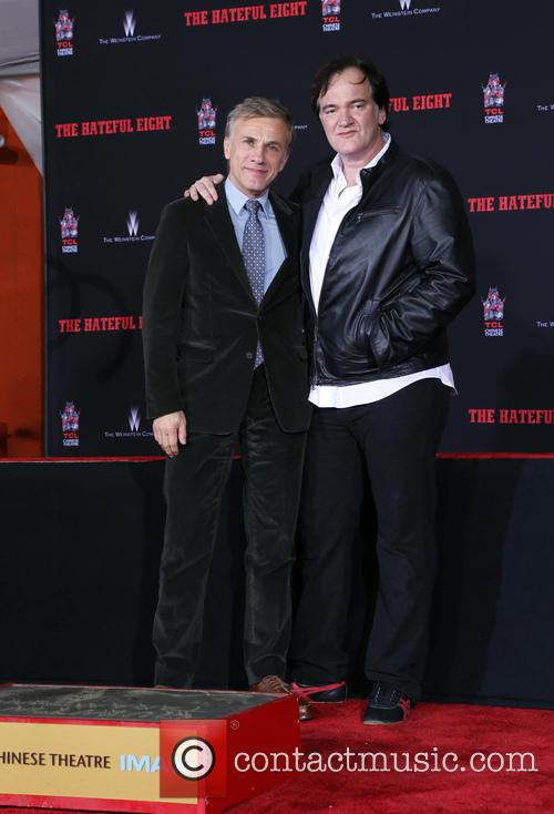 Christoph Waltz and Quentin Tarantino 7