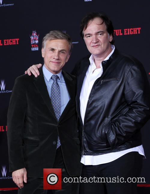 Christoph Waltz and Quentin Tarantino 8