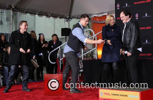 Tim Roth, Channing Tatum, Zoe Bell and Quentin Tarantino 4