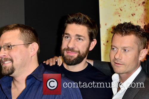 John 'tig' Tiegen, John Krasinski and James Badge Dale