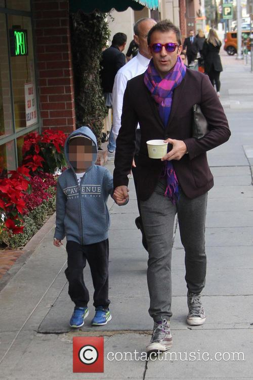 Alessandro Del Piero out and about in Beverly...