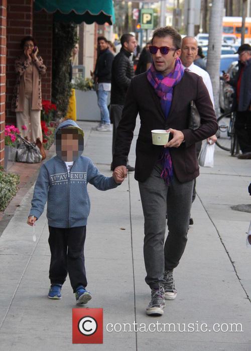 Alessandro Del Piero and Tobias Del Piero 5