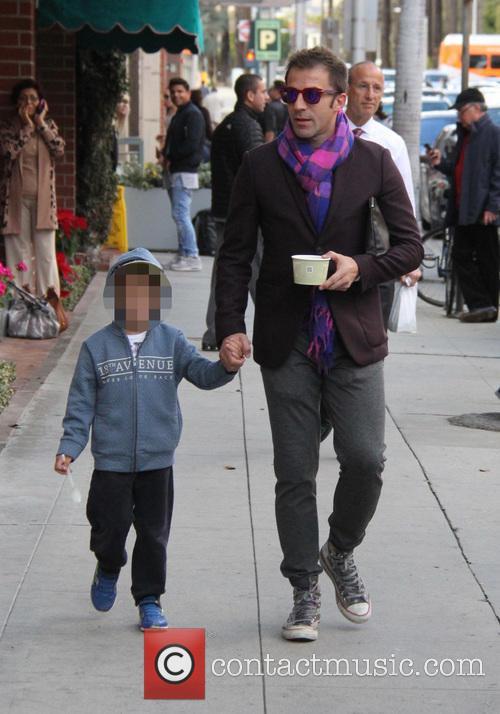 Alessandro Del Piero and Tobias Del Piero 6