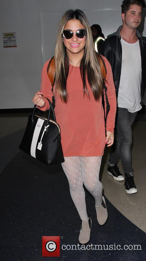 Ally Brooke arrives on a flight to Los...