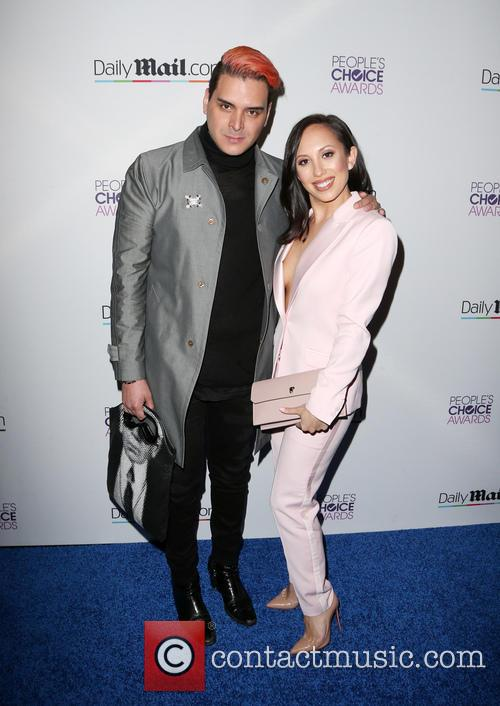 Markus Molinari and Cheryl Burke 1