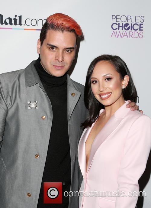Markus Molinari and Cheryl Burke 4